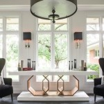 Atrium Foyer chairs and console table