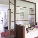 Library Daybed Glass Wall into Gallery